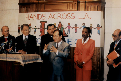 Interreligious Council's 'Hands Across LA' Leaders (Los Angeles, CA)