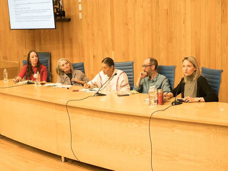 Animating the End of Prohibition: Artists Confronting the Challenges of Marihuana Regularization in Mexico. Encuentro 2019, CDMX, Mexico. Photo/Foto: Manuel Molina Martagon.