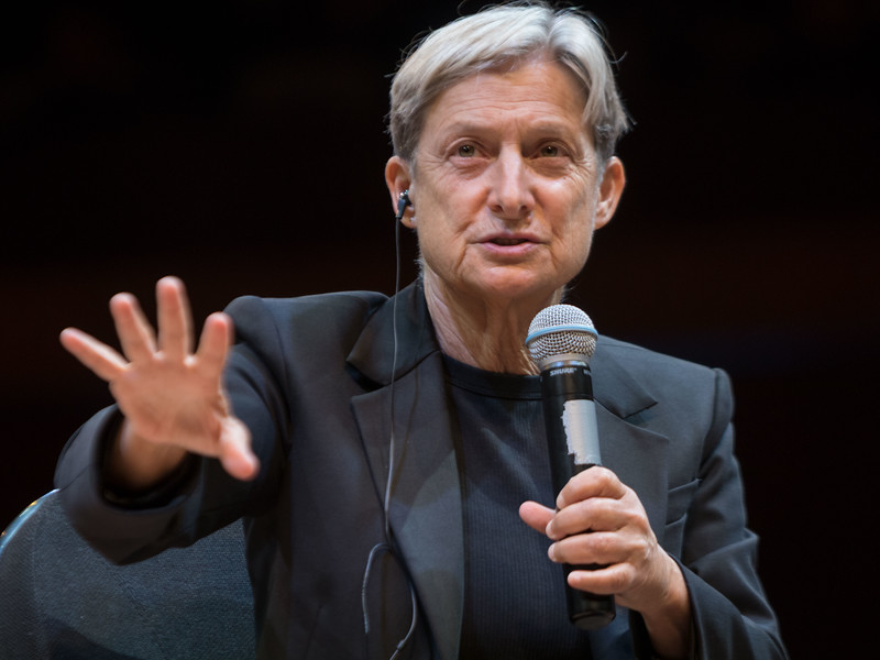 Judith Butler, Out of Breath: Laughing, Crying at the Body's Limit. Encuentro 2019, CDMX, Mexico. Photo/Foto: Julio Pantoja.