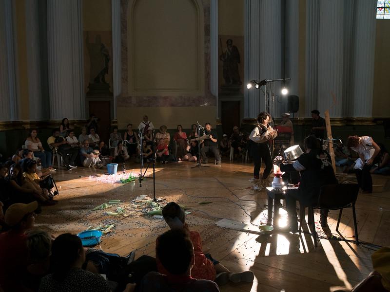 Alexia Miranda, Memoria Sonora III. Encuentro 2019, CDMX, Mexico. Photo/Foto: Manuel Molina Martagon.
