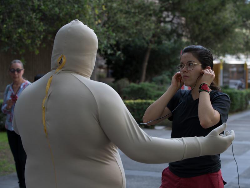 Geovanni Lima da Silva, O que te diz o meu corpo? Encuentro 2019, CDMX, Mexico. Photo/Foto: Manuel Molina Martagon.