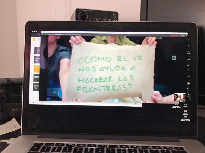 FRPxTN (Frisly Soberanis), Conexiones fracturadas. Encuentro 2019, CDMX, Mexico. Photo/Foto: Frisly Soberanis.