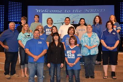 NBISD 15 Year Service Award Recipients