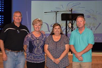 NBISD 25 Year Service Award Recipients
