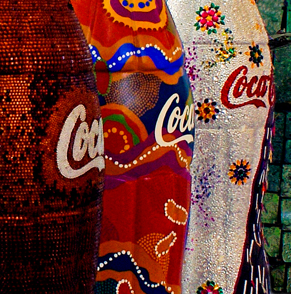 Honorable Mention<br /> Coke Bottles<br /> Nancy Springer