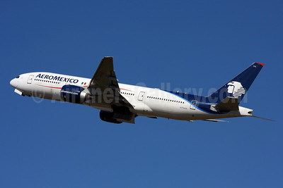The last 777 flight to be operated on February 26, 2018 (AM031 EZE-MEX)