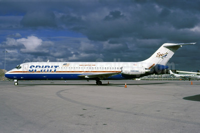 The last Spirit Airlines DC-9-31/32s were retired on May 1, 2003
