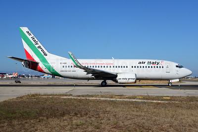 The last Air Italy Boeing 737 Classic was retired in October 2016