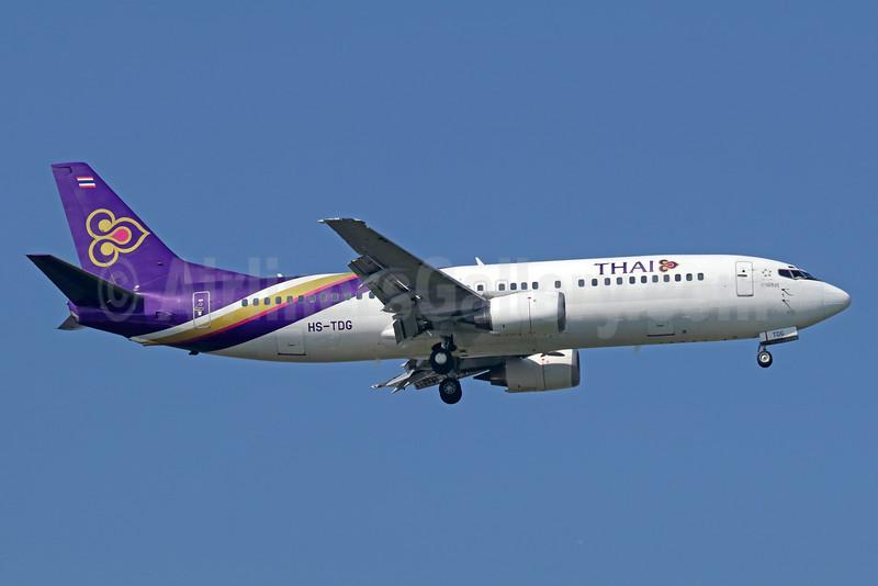 Last Thai 737-400, retired September 2, 2018 (TG288, Koh Samui-Bangkok)