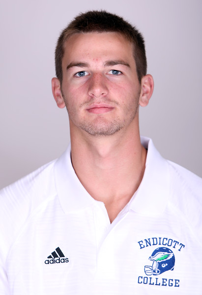 Endicott College Football Sophomore Connor Crotty