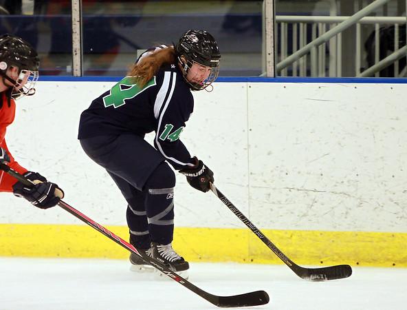 Freshman Forward Alicia Steeves #14