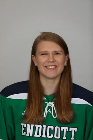 Endicott Women's Ice Hockey Headshots 2017-2018