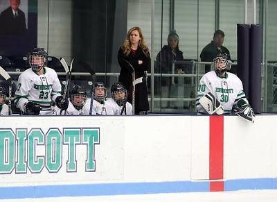 Endicott Women's Ice Hockey Senior Day vs Morrisville State