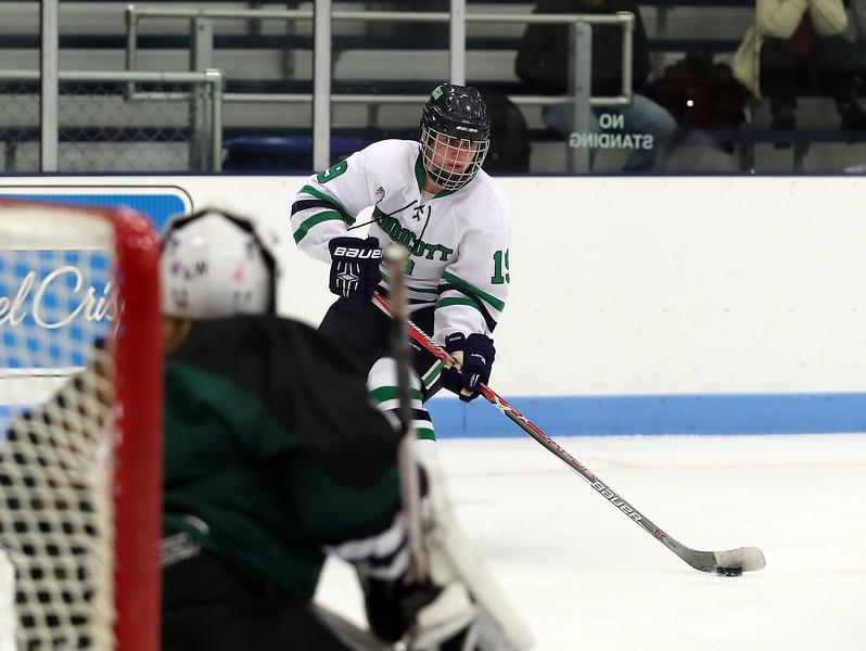 Sophomore Forward Jade Meier (19)