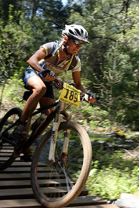 Louise Kobin cruises.  Kobin was in the 8 hour solo pro/exp division.