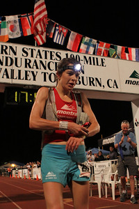 Women's winner Ellie Greenwood