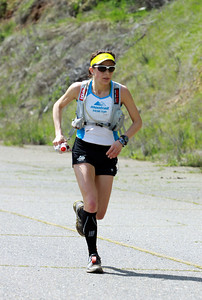 Ellie Greenwood of Canada again won the women's side of the 2012 American River 50 Mile Endurance Run. Greenwood was sixth overall. Greenwood won the 2011 AR 50 and the first woman finisher in the 2011 Western States 100 Endurance Run.