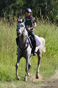 Lindall Footloose at a ride during 2012.
