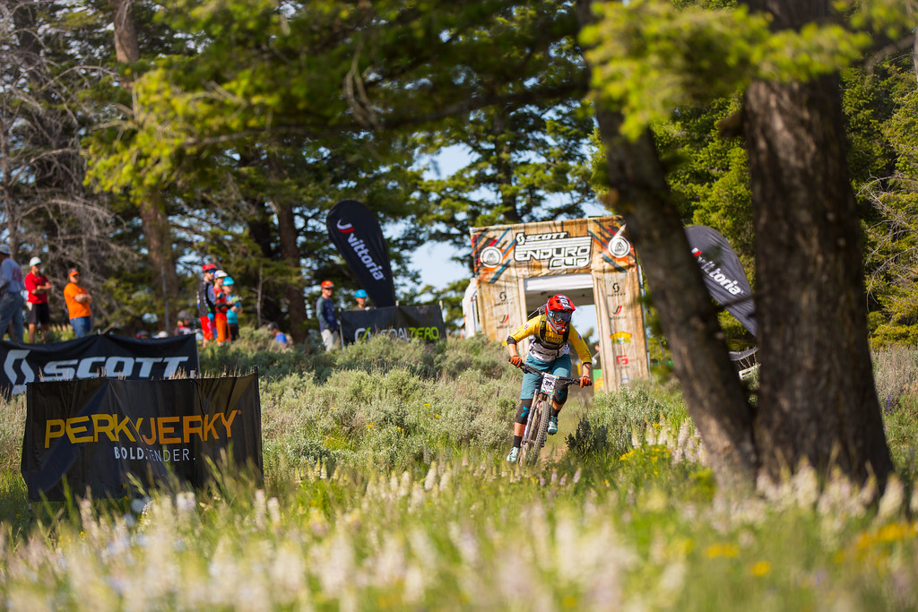 Cooper Ott races the Pro Division in Round  3 of the 2017 SCOTT Enduro Cup presented by Vittoria in Sun Valley, Idaho on July 2nd 2017. Photographer Noah Wetzel, courtesy of Enduro Cup