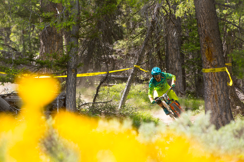 Shawn Neer races the Pro Division in Round  3 of the 2017 SCOTT Enduro Cup presented by Vittoria in Sun Valley, Idaho on July 2nd 2017. Photographer Noah Wetzel, courtesy of Enduro Cup