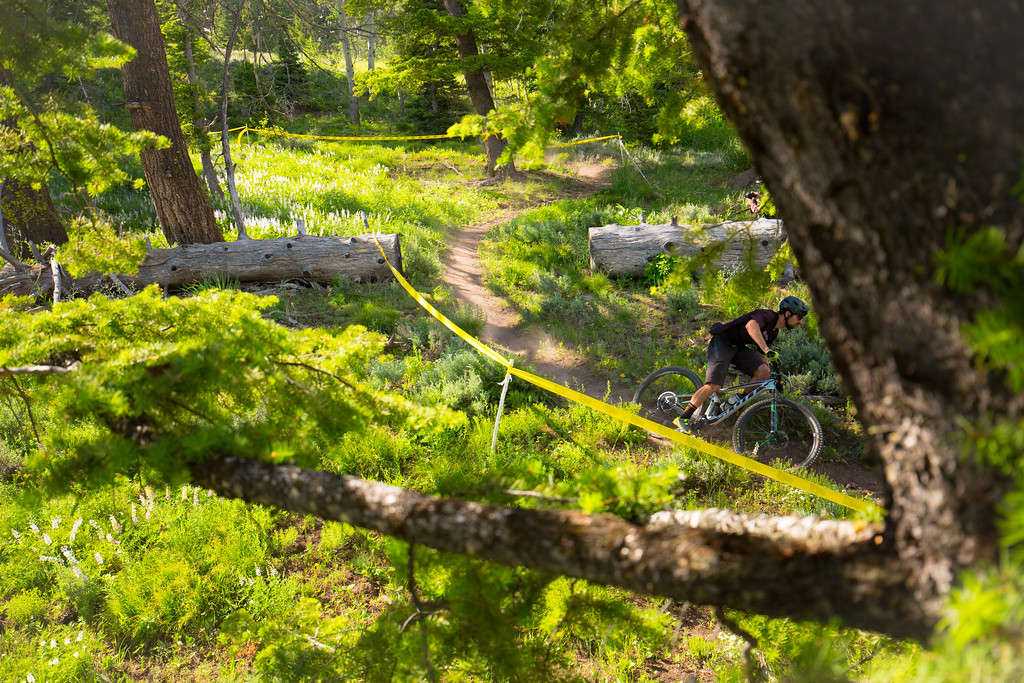 Andrew Putt  races the Expert Division in Round  3 of the 2017 SCOTT Enduro Cup presented by Vittoria in Sun Valley, Idaho on July 2nd 2017. Photographer Noah Wetzel, courtesy of Enduro Cup