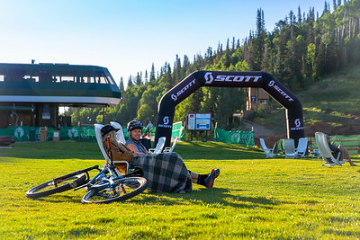 Round 5 of the 2018 Scott Enduro Cup presented by Vittoria at Deer Valley Resort in Park City, UT on August 25th, 2018. (Photographer: Noah Wetzel, Courtesy, Enduro Cup)