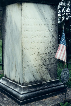 Col. John Brown Grave