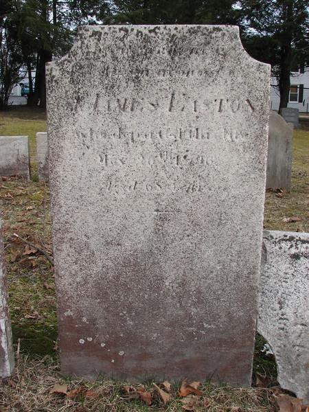 Gravestone of Col. James Easton