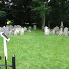 View of the cemetery. Note the sign at left in this photo. A closeup of it is the next picture.