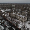 Abandoned City of Pripyat in Ukraine