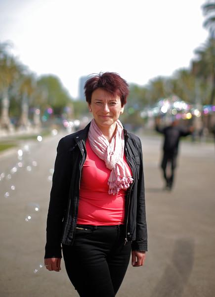 Svitlana Shmagailo (Svieta) víctima accidente nuclear de Chernóbil