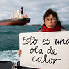 30 aniversario hundimiento Rainbow Warrior. Maite Mompó, marinera albaceteña a bordo del actual Rainbow Warrior
