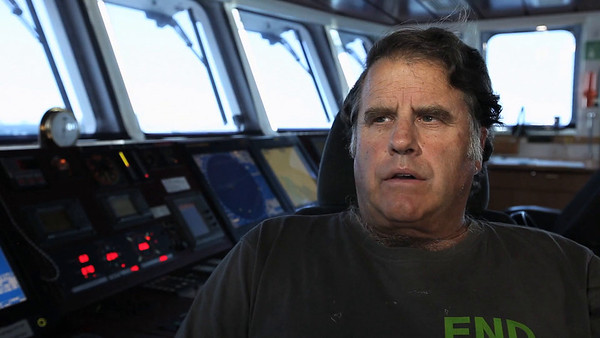 Entrevista al capitán del Rainbow Warrior Peter Willcox (1)