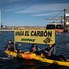 Acción en la central térmica de Carboneras