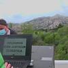Proyección en El Yelmo, Parque nacional de la Sierra de Guadarrama