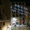 Vídeo editado para redes: manifestación imágenes y sombras