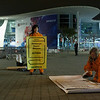 Accion de Greenpeace en el Mobile World Congress