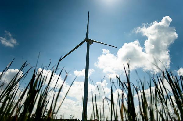 Wind Turbine in Nakhon Si Thammarat