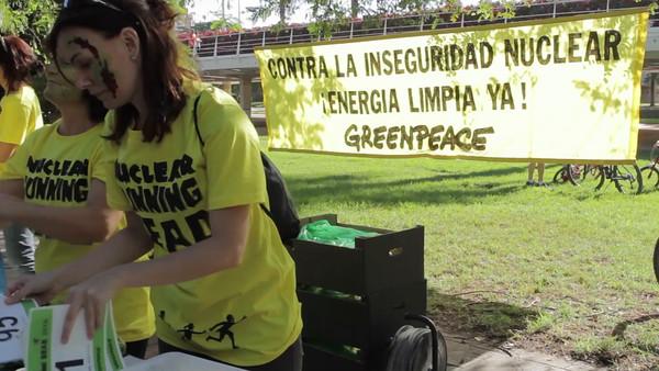 Vídeo, Carrera Nuclear Running Dead en Valencia
