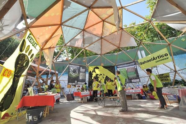 Día de acción global, camino a la cumbre del clima de París / Climate Global Day of Action, Madrid