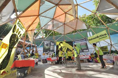 Día de acción global, camino a la cumbre del clima de París