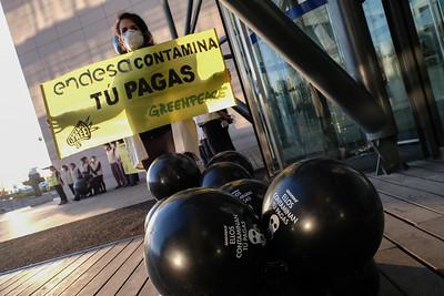 Greenpeace contra el sector eléctrico