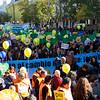Manifestación de Alianza por el Clima por el Cambio Climático