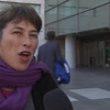 Maite Mompó, portavoz de los activistas encausados
