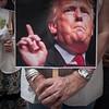 Protesta contra Trump por la salida de EEUU del Acuerdo del Clima de París