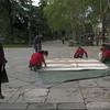 Protesta de Greenpeace en el Museo del Prado: La Rendición de Garoña