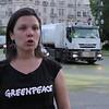 Vídeo declaraciones de Sara Pizzinato. Portavoz de Energía de Greenpeace