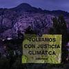 24 de abril Manifestación de sombras por el clima