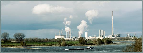Erweiterungsbaustelle Steinkohlekraftwerk Walsum - 2007