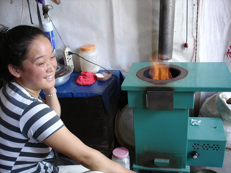 Ms. Han was happy. Sep 2009